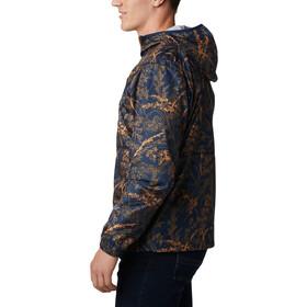 Columbia Flash Forward Windbreaker Print Jacket Men, collegiate navy oregon